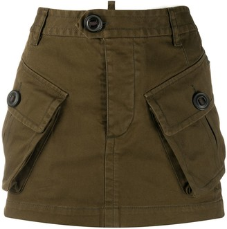 DSQUARED2 Utility Mini Skirt