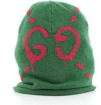 Gucci Guccighost Knit Beanie Wool XS