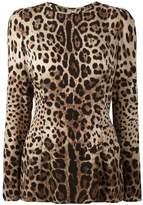 Dolce & Gabbana leopard print top