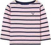 Gant Baby Girl Breton Stripe Boatneck Sweatshirt