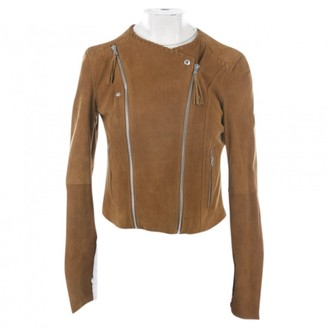 Paige Brown Leather Jacket for Women
