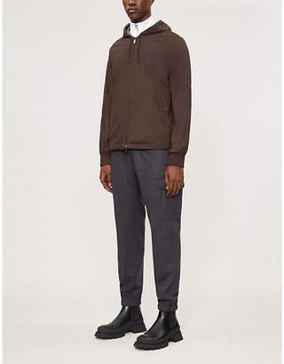 Ermenegildo Zegna Reversible shell and cashmere hooded jacket