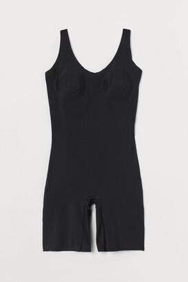 H&M Light Shaping Biker Bodysuit