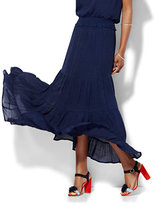 New York & Co. Tiered Maxi Skirt