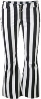 Marques Almeida Marques'almeida - striped flared trousers - women - Cotton - 8