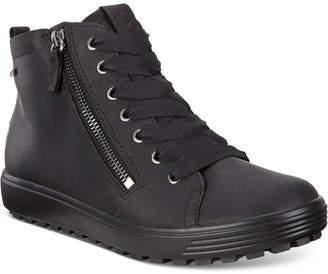 Ecco Women Soft 7 Tred Gore-Tex Waterproof Booties Women Shoes