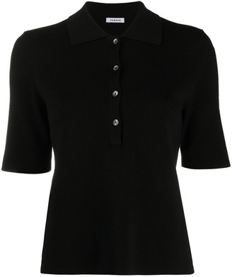 P.A.R.O.S.H. Knitted Polo Top