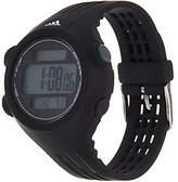 adidas Unisex Black & Black Resin Sport Watch -Questra