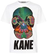 Christopher Kane Psychedelic Flower Logo T-shirt