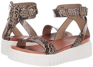 Mia Lunna-S (Beige Multi) Women's Sandals