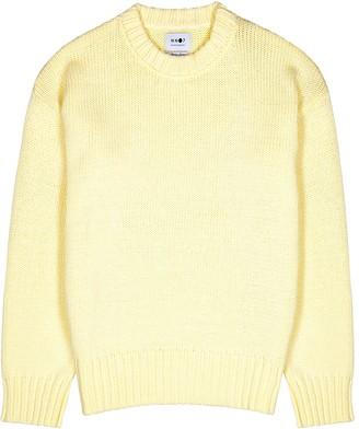 NN07 Jason yellow cotton-blend jumper