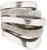 Pianegonda Sterling Silver Multi Band Ring