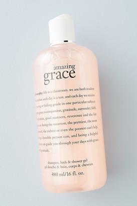 philosophy Amazing Grace Shampoo, Bath + Shower Gel By in Pink Size ALL