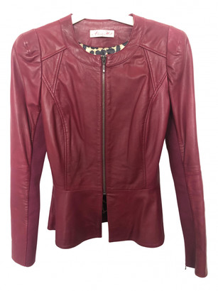 Alannah Hill Red Leather Jacket for Women