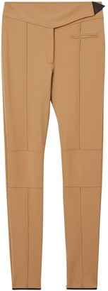 Burberry Stretch Crepe Jersey Jodhpurs