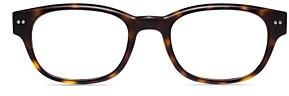 Look Optic Unisex Bond Rectangular Blue Light Glasses, 50mm