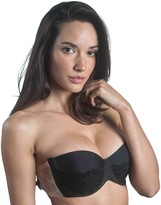 Maidenform Bra: Balconette Lace Backless Strapless Adhesive Bra M2236