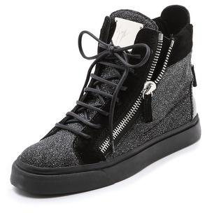 Giuseppe Zanotti London Double Zip Sneakers