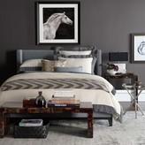 Williams-Sonoma Williams Sonoma Chambers Flax Washed-Linen Border Bedding, Sale