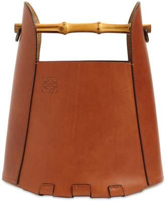 Loewe BAMBOO & LEATHER BUCKET BAG
