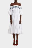 Peter Pilotto Cotton Lace Long Pallas Dress