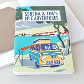 Sukie Personalised Beach Camper Travel Journal