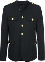 Pierre Balmain epaulette military jacket