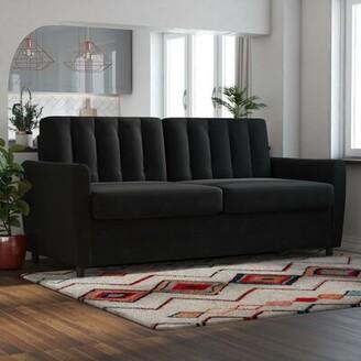 Novogratz Brittany Sofa Bed Sleeper Novogratz Upholstery Color: Dark Gray