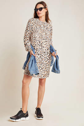 Cloth & Stone Leopard Smocked Tunic