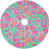 One Kings Lane Vintage Lilly Pulitzer Christmas Tree Skirt