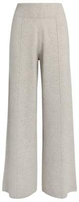 Pringle Cashmere-Wool Wide-Leg Trousers