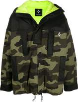 Marcelo Burlon County Of Milan camouflage hooded jacket