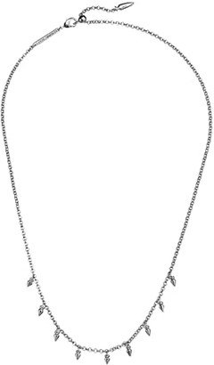 Kendra Scott Addison Choker Necklace (Rhodium Metal) Necklace