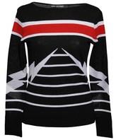Neil Barrett Women's Multicolor Wool Jumper.