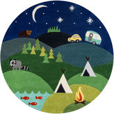 Momeni Lil Mo Camp Hand Tufted Round Rugs
