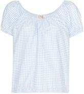 Eve Denim Camille gingham blouse