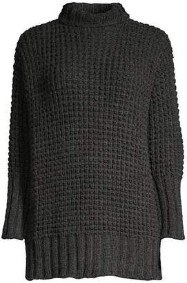 Eileen Fisher Slouchy Turtleneck Tunic Sweater