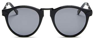Karen Walker Unisex Hemingway Round Sunglasses, 49mm
