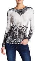 Seven7 Ombre Lace Shirt