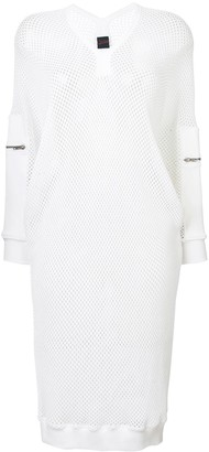 Jean Paul Gaultier Pre-Owned sporty mesh midi dress