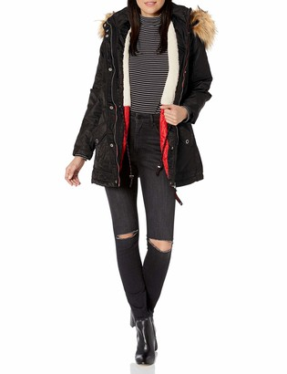 Urban Republic Women's Juniors Poly-Twill Jacket