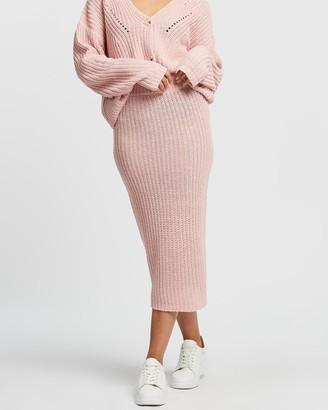 Atmos & Here Lauren Knit Skirt