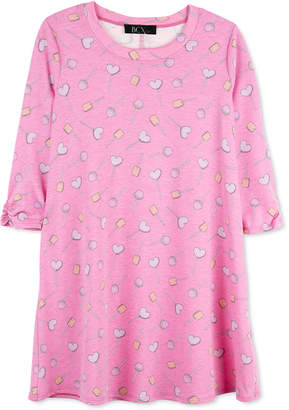 BCX Big Girls Heart Lollipops Dress