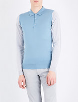 John Smedley Brightgate merino wool polo shirt