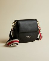Ted Baker Leather Round Cross Body Bag