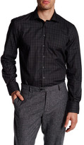 Toscano Jaspe Check Regular Fit Sport Shirt