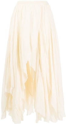 Mes Demoiselles Asymmetric Skirt
