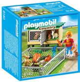 Playmobil NEW Country Life Rabbit Pen with Hutch
