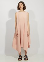 Issey Miyake Cuddle Color Pleats Long Dress