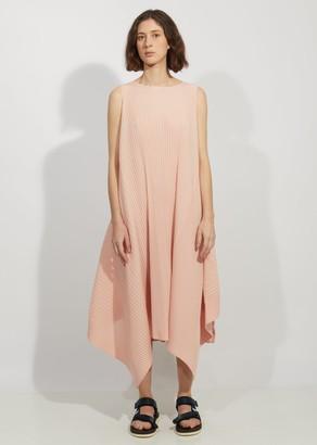 Issey Miyake Cuddle Color Pleats Long Dress
